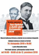 Výstava - Jan Opletal a další oběti listopadu 1939 1